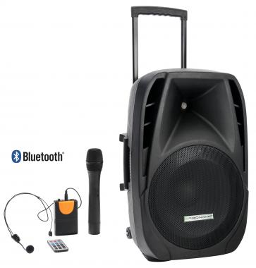 Pronomic PH15AW battery-powered transportable speaker system 15""
