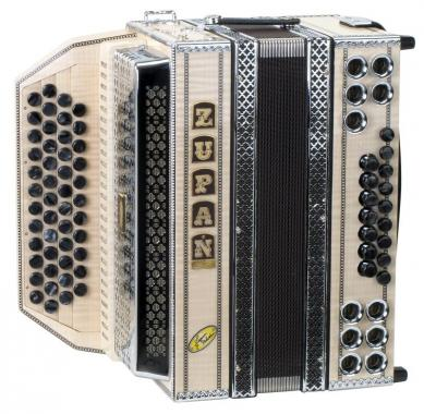 Zupan Maple IVD accordion signature model G-C-F-B