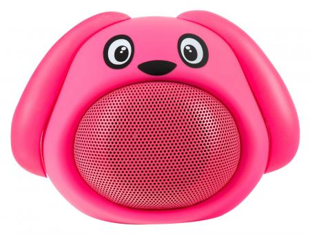 "iCutes Bluetooth haut-parleur ""Dog"" rose"