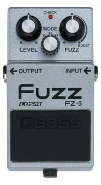 Boss FZ-5 Fuzz Pedal Distorsion-Overdrive