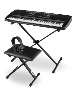 Funkey 61-Key Deluxe Kit, black