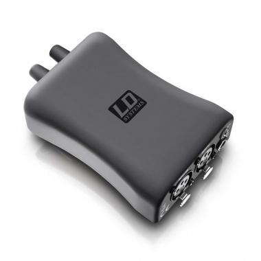 LD-Systems HPA 1 Kopfhörerverstärker Kabel In Ear Bodypack mit Focus Mode