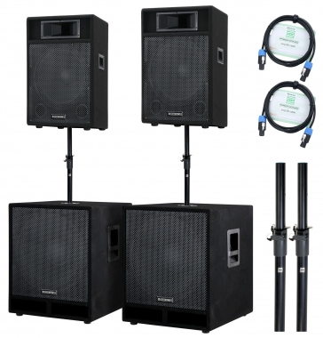 McGrey Stage-4400 PA-Anlage 4400 Watt