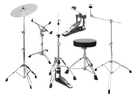 XDrum HP-SSP5S Hardware Pack 6-teilig
