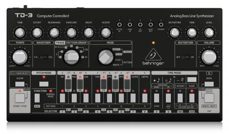 Behringer TD-3-BK Bass Line Synthesizer