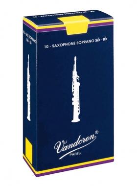 Vandoren Classic Blau Sopransax Blätter (3) 10er Pack