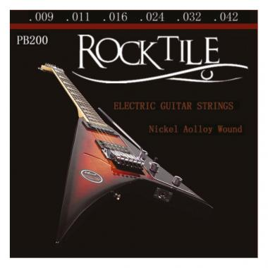 Rocktile Electric Guitar Strings Super Light 6 Strings