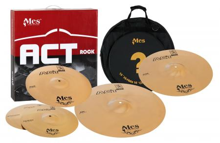 "MES Act Series Cymbales Perfomance Set  (14"" Crash (14"" HH / 16"" Crash / 20"" Ride / 18"" Crash)"
