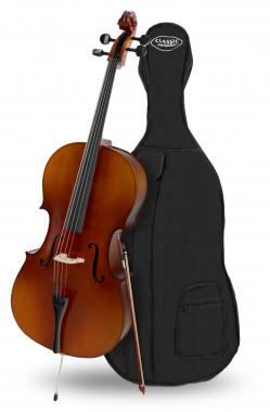 Classic Cantabile Student Cello 4/4 SET inkl. Bogen und Tasche  - Retoure (Zustand: gut)