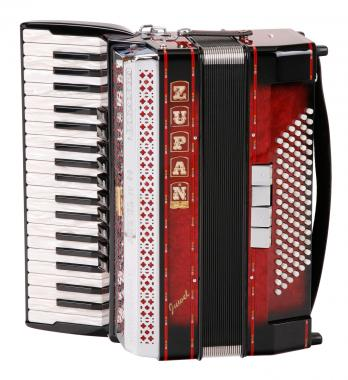 Accordéon Juwel IV 96/M (Rouge) Zupan