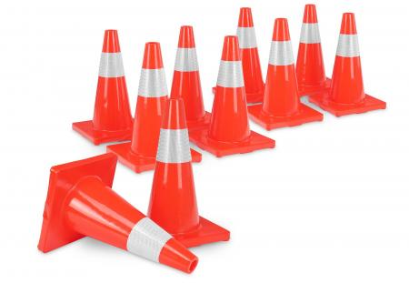Stagecaptain LK-450 Traffic Cone 10-Piece Set