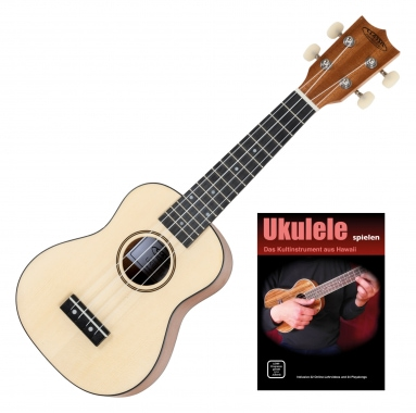 Classic Cantabile Ukulele natural