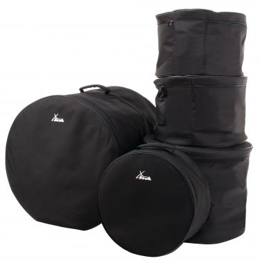"XDrum Classic Drum-Bag-Set, Standard Tailles: 22"" 16"" 13"" 12"" 14,5"""