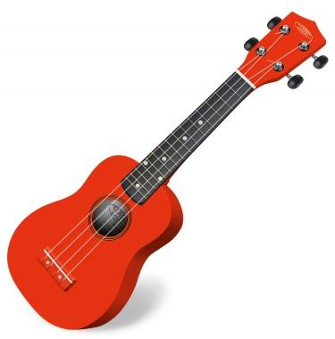 Classic Cantabile US-100 RD Soprano Ukulele Red