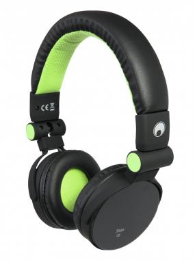 Omnitronic SHP-i3 Stereo-Kopfhörer grün