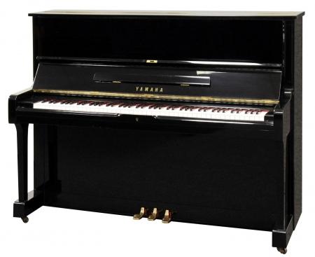 Yamaha U1 Klavier schwarz poliert, gebraucht