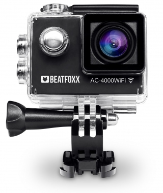 Beatfoxx AC-4000WiFi caméra d'actions Full HD 12 MP HDMI SD