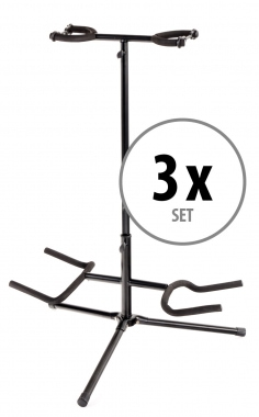 Classic Cantabile GS DUO Git. / Bass Stands 2-3x Set