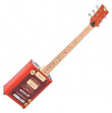 Bohemian BG15HS Oil Can Gitarre Hot Sauce