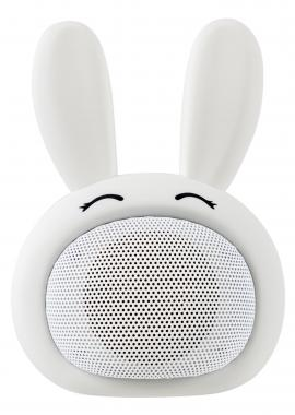 "iCutes Altoparlante Bluetooth ""Rabbit"" bianco"