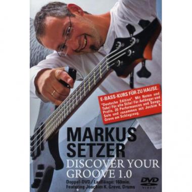Discover your Groove 1.0 von Markus Setzer – 2 DVDs
