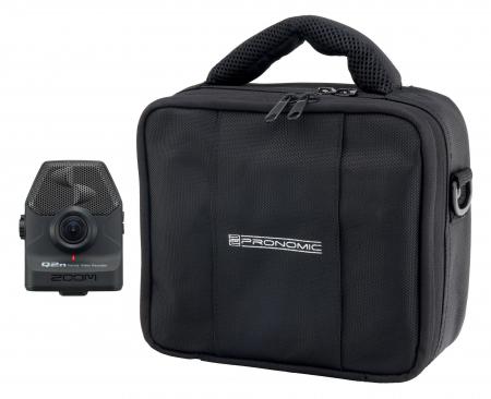Zoom Q2n Handy Video Recorder Set mit Pronomic RB-Flex Bag