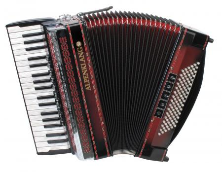 Alpenklang Pro IV/96 M accordeon bordeaux