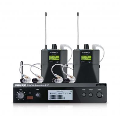 Shure PSM300 Twinpack Pro S8 In-Ear Monitoring