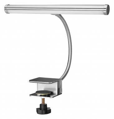 Showlite KL-20C LED lampe de pupitre et de piano chromé