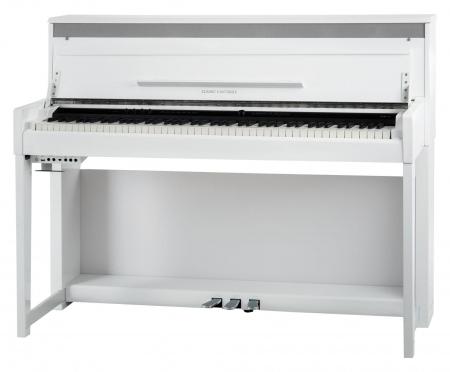 Classic Cantabile UP-1 WM Upright E-Piano Weiß matt  - Retoure (Zustand: sehr gut)