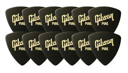 Gibson APRGG-73H Pick Wedge Heavy 12er Pack