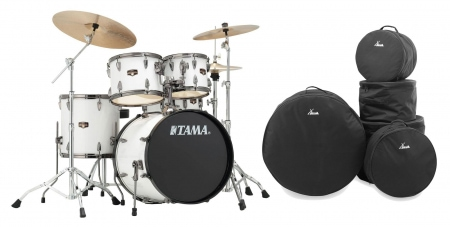 Tama IP50H6N-BSGW Imperialstar Drumkit Sugar White Set inkl. Gigbags