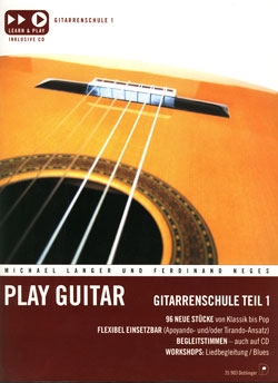 Play Guitar Gitarrenschule 1 +CD DO35903