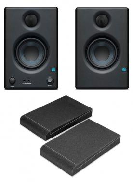 PreSonus Eris E3.5 Studiomonitor-Paar im Set mit Absorberplatten