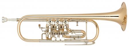 Miraphone Bb-9R Zylindertrompete Goldmessing