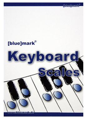 Blue Mark Keyboard Scales