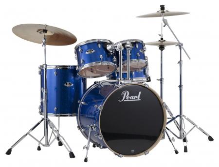 Pearl EXX725BR/C Drumkit #702 Electric Blue Sparkle
