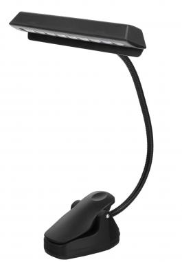 Showlite MSL-20A LED Accu Lampada leggio spartiti nero