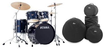 Tama IP50H6N-MNB Imperialstar Drumkit Midnight Blue Set inkl. Gigbags