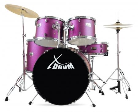 "XDrum Semi 22"" Standard Drum Set Violet"
