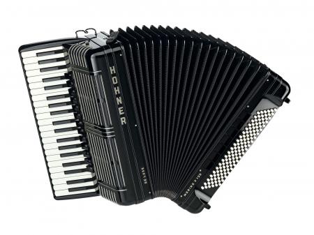 Hohner Morino+ V 120 de Luxe Akkordeon schwarz