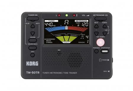 Korg TM-50TR Metronom Tuner schwarz