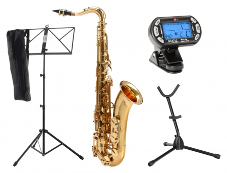 Classic Cantabile TS-450 Bb Tenor Saxophone SET