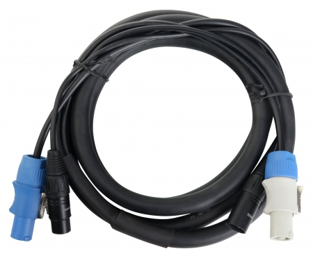 Pronomic Stage PPD 2.5 Cavo di alimentazione XLR DMX Powerplug powercon 2,5 m