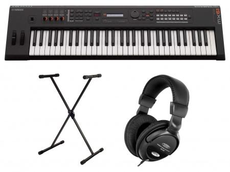 Yamaha MX61 II Music Synthesizer schwarz SET