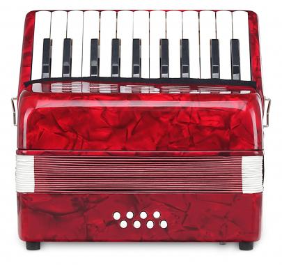 Classic Cantabile Secondo Kinder Akkordeon 8 Bass rot  - Retoure (Zustand: gut)