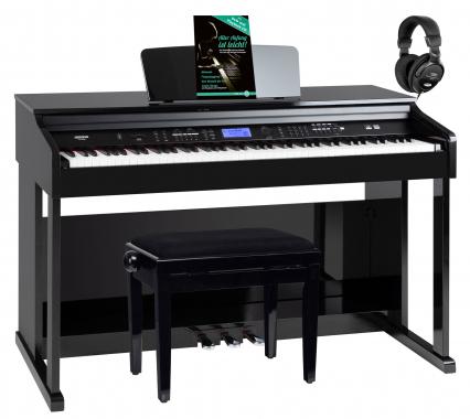 FunKey DP-2688A SH piano numérique noir brillant set