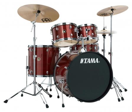 Tama RM52KH6-RDS Rhythm Mate Drumkit Red Stream