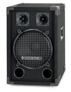 McGrey DJ-1022 Enceintes de Basement Party/DJ 400W