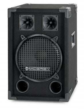 McGrey DJ-1022 party kelder/dj box 400W